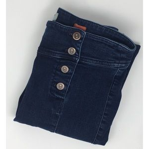 Anthro Pilcro & The Letterpress High Waisted Jeans